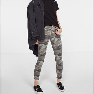 Express camo jeans